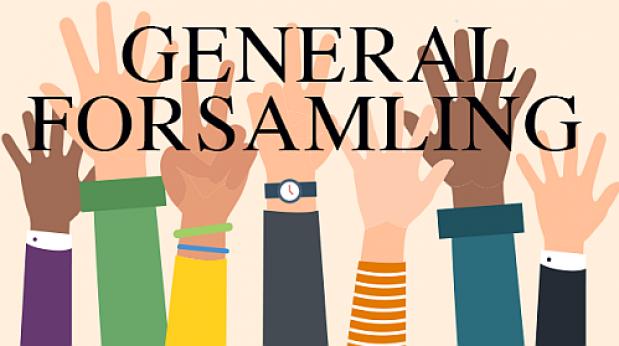 Invitation til generalforsamling d. 15. juni kl. 19.15